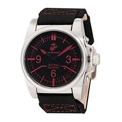 Wrist Armor® WA105 Mens US Marine Corps Stainless Steel Watch