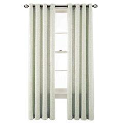 MarthaWindow™ Intertwine Grommet-Top Curtain Panel
