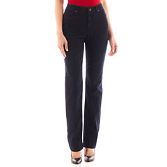 Liz Claiborne® Essential Original-Fit Jeans - Tall
