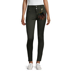 Tinseltown Skinny Fit Slim Pants-Juniors