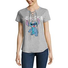 Lilo & Stitch Graphic T-Shirt- Juniors