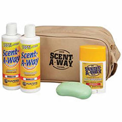 Scent-A-Way Travel Shower Kit