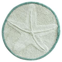 Bacova Guild Starfish Cotton Bath Rug