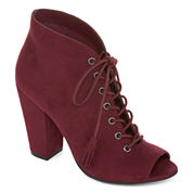 a.n.a® Jumper Lace-Up Booties