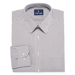 Stafford Comfort Stretch Broadcloth Long Sleeve Dress Shirt