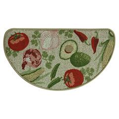 Bacova Guild Classic Berber Mexican Veggie Printed Wedge Rugs