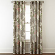 JCPenney Home™ Farrah Grommet-Top Curtain Panel