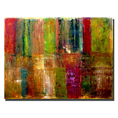 Abstract Color Canvas Wall Art