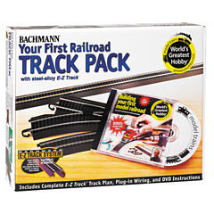 Bachmann Trains - Steel Alloy Word's Greatest Hobby Deluxe Track Pack