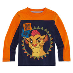 Okie Dokie® Long-Sleeve Lion Guard Tee - Toddler Boys 2t-5t