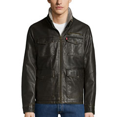 Levi's® 4-Pocket Faux-Leather Utility Jacket