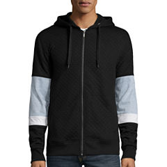 I Jeans By Buffalo® Eliot Long-Sleeve Zip-Up Hoodie