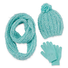 Total Girl Girls 3-pc. Cold Weather Set-Big Kid
