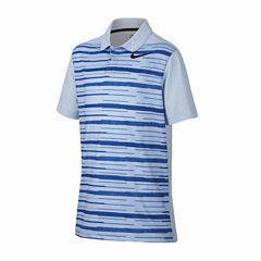 Nike Short Sleeve Knit Polo Shirt - Big Kid Boys