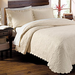 Lamont Home Majestic Scalloped Coverlet