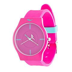 Everlast Womens Pink Analog Watch