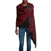 Mixit™ Aztec Blanket Wrap with Fringe