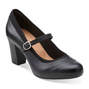 Clarks® Brynn Ivy Comfort Dress Pumps