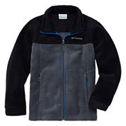 Columbia® Flattop Ridge Long-Sleeve Full-Zip Fleece Jacket - Boys 8-20