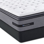 Sealy® Posturepedic® Arroyo Grande Valley Cushion Firm Euro Pillow-Top - Mattress and Box Springs