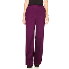 Alfred Dunner® Textured Pull-On Pants