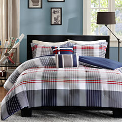 Intelligent Design Harper Plaid Comforter Set