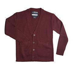 French Toast® Button-Front V-Neck Cardigan - Boys 8-20 and Husky