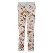 Vigoss® Floral-Print Knit Pants - Girls 7-16