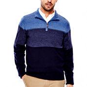 Dockers® Soft Acrylic Colorblock Sweater