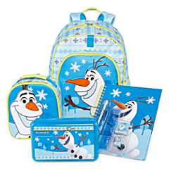 Disney Collection Olaf Backpack, Lunchbox, Notebook or Pencil Box