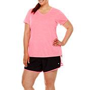 Xersion™ Melange T-Shirt or Woven Running Shorts - Plus
