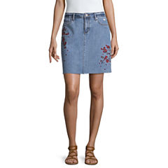 a.n.a Denim Skirt