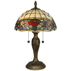Dale Tiffany™ Rose Border Table Lamp
