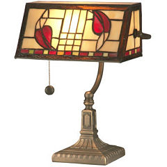 Dale Tiffany™ Henderson Bankers Accent Table Lamp