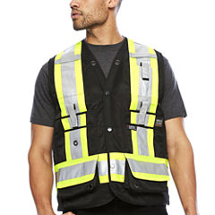 Work King® High Visibility Surveyor Vest