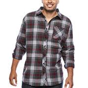 Zoo York® Long-Sleeve Woven Plaid Shirt - Big & Tall