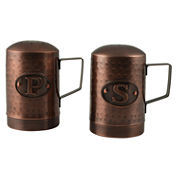 Thirstystone® Rooster Hammered Copper Salt & Pepper Set
