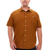 The Foundry Supply Co.™ Short-Sleeve Workwear Shirt - Big & Tall