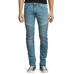 Arizona Moto Skinny Flex Denim Pants
