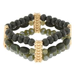 Mixit Womens Beaded Bracelet