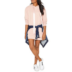 Flirtitude Sweatshirt Dress- Juniors