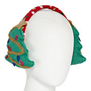 Mixit™ Knit Christmas Tree Earmuffs