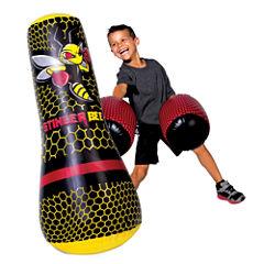 Franklin Sports Stinger Bee Punching Bag & Gloves