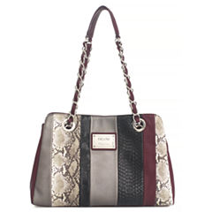 Nicole By Nicole Miller Suzie Large Patch Tote Bag