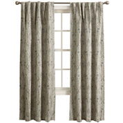 Sun Zero™ Mayfair Room-Darkening Rod-Pocket/Back-Tab Curtain Panel