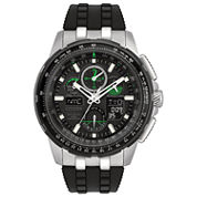 Citizen Mens Black Strap Watch-Jy8051-08e