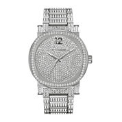 Wittnauer® Mens Crystal-Accent Stainless Steel Watch WN3007