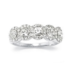 Sparkle Allure White Cubic Zirconia Band