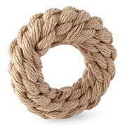 JCPenney Home™ Jute Braided Set of 4 Napkin Rings