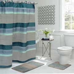 Regent Stripe 15-pc. Shower Curtain Set